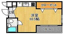 K-HAUS[302号室]の間取り