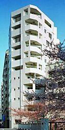 東京都目黒区青葉台3丁目の賃貸マンションの外観
