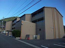 京都府京都市山科区大塚檀ノ浦の賃貸マンションの外観