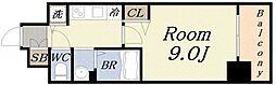 ララプレイスOSAKA WEST PRIME [6階]の間取り
