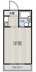 Osaka Metro谷町線 守口駅 徒歩5分の賃貸マンション 3階1Kの間取り