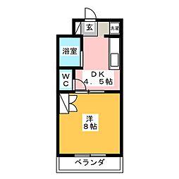 セントポーリアIII[2階]の間取り