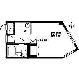 マンション桂[2階]の間取り