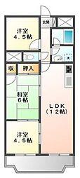 CASA  IKUMATAII[2階]の間取り