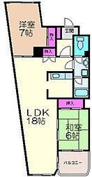 ムアナ88[4階]の間取り