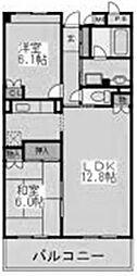 サザントゥリーII[4階]の間取り