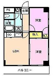 AKビル[3階]の間取り