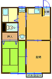 スコッチハウス[1階]の間取り