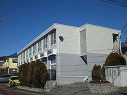 東京都福生市南田園3丁目の賃貸アパートの外観