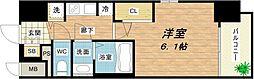 W-STYLE大阪城南[3階]の間取り