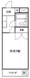 グランパスノムラ[1階]の間取り
