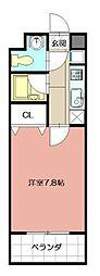 北口幹線ビル[403号室]の間取り