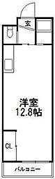 ミラバ澄川[201号室]の間取り