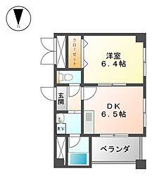 シャルムドミール[4階]の間取り