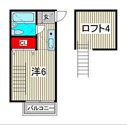 エルザ22[2階]の間取り