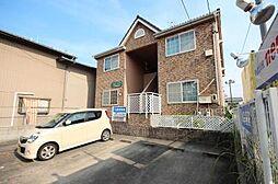 愛知県名古屋市中川区法華1丁目の賃貸アパートの外観