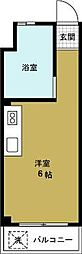 モアハイツ[3階]の間取り