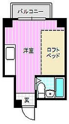 リラッサ大和田[2階]の間取り