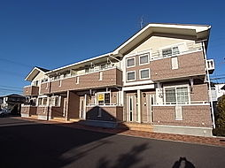 千葉県野田市堤根の賃貸アパートの外観
