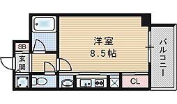 ラナップスクエア福島[4階]の間取り