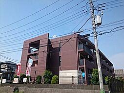 神奈川県厚木市温水西2の賃貸マンションの外観