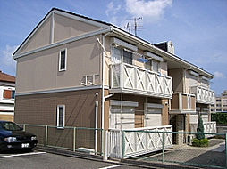 大阪府高槻市西町の賃貸アパートの外観