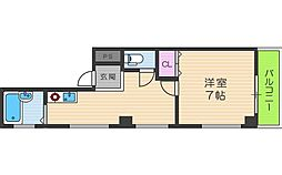レガート昭和[4階]の間取り