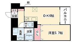 PeaceSakai[2階]の間取り