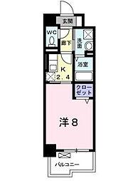 プランドール[7階]の間取り