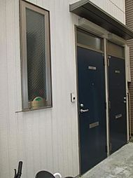 神奈川県川崎市中原区新丸子東1丁目の賃貸アパートの外観