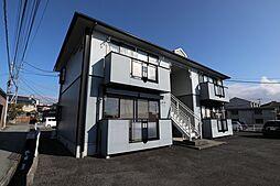 山梨県甲斐市志田の賃貸アパートの外観