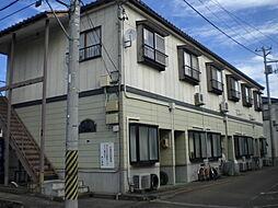 新潟県新潟市東区山木戸6丁目の賃貸アパートの外観