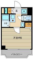 エステムコート神戸三宮山手センティール[9階]の間取り