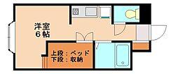 シティコート2[1階]の間取り