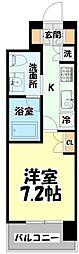仙台市営南北線 北四番丁駅 徒歩10分の賃貸マンション 10階1Kの間取り