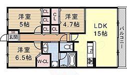 六地蔵駅 15.8万円