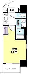 ビガーポリス143松ヶ枝町[3階]の間取り