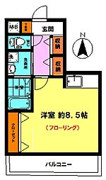 リブレ子安 (2F)[2階]の間取り