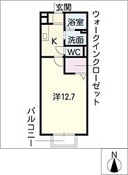 コンフォートアベニュー東棟[1階]の間取り