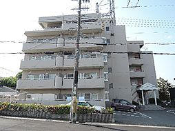 京都府宇治市五ケ庄一番割の賃貸マンションの外観