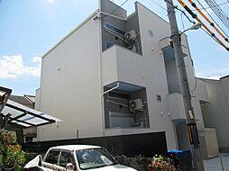 兵庫県尼崎市東大物町2丁目の賃貸アパートの外観