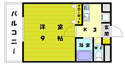 ウェーブコート[3階]の間取り