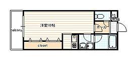 ヴァンヴェール35[302号室]の間取り