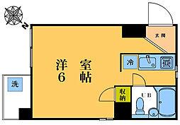 瑞豊マンション[303号室]の間取り