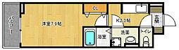 滋賀県草津市渋川2丁目の賃貸アパートの間取り