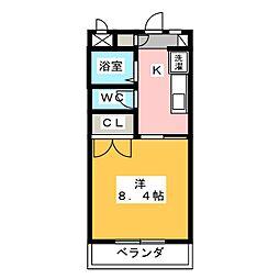 ツインシャトー富ヶ丘[3階]の間取り