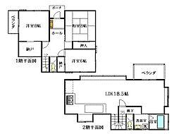 小松ヶ原別荘地 広いお庭のある別荘