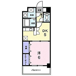 ビルドオオタニ[8階]の間取り