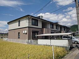 京都府京都市山科区音羽八ノ坪の賃貸アパートの外観