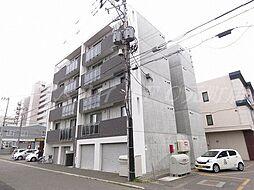 北海道札幌市東区北十六条東16の賃貸マンションの外観